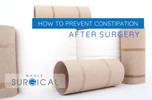 How to prevent constipation after surgery