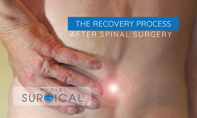 The recovery process after spinal surgery