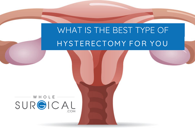 What is the best type of hysterectomy for you