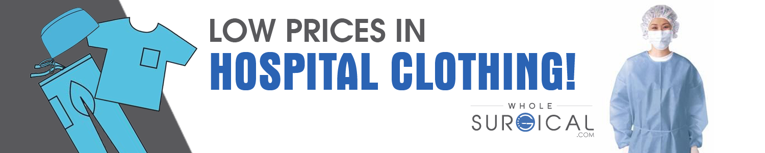 Low prices in hospital clothing!