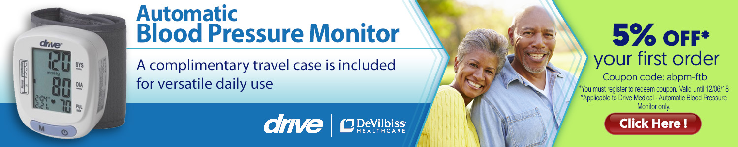 Drive Automatic Blood Pressure Monitor - WholeSurgical.com